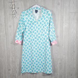 Melly M Back Bay Shift Dress Size 10